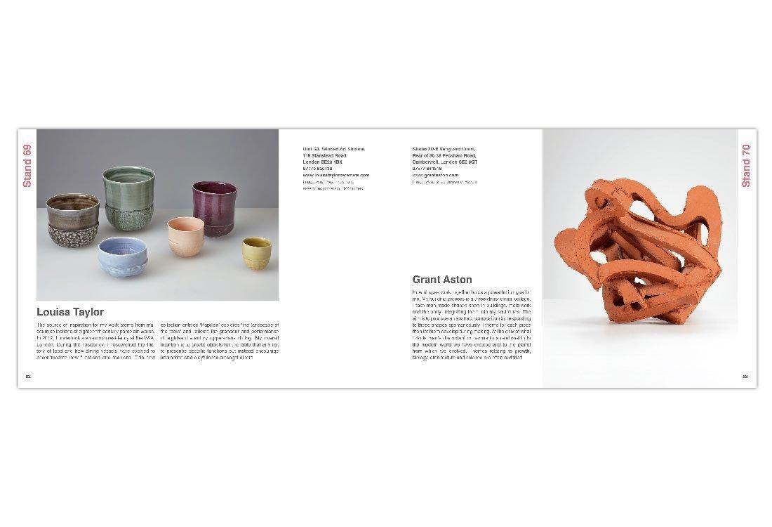 Natasha Cawley Ceramic Art London Spread