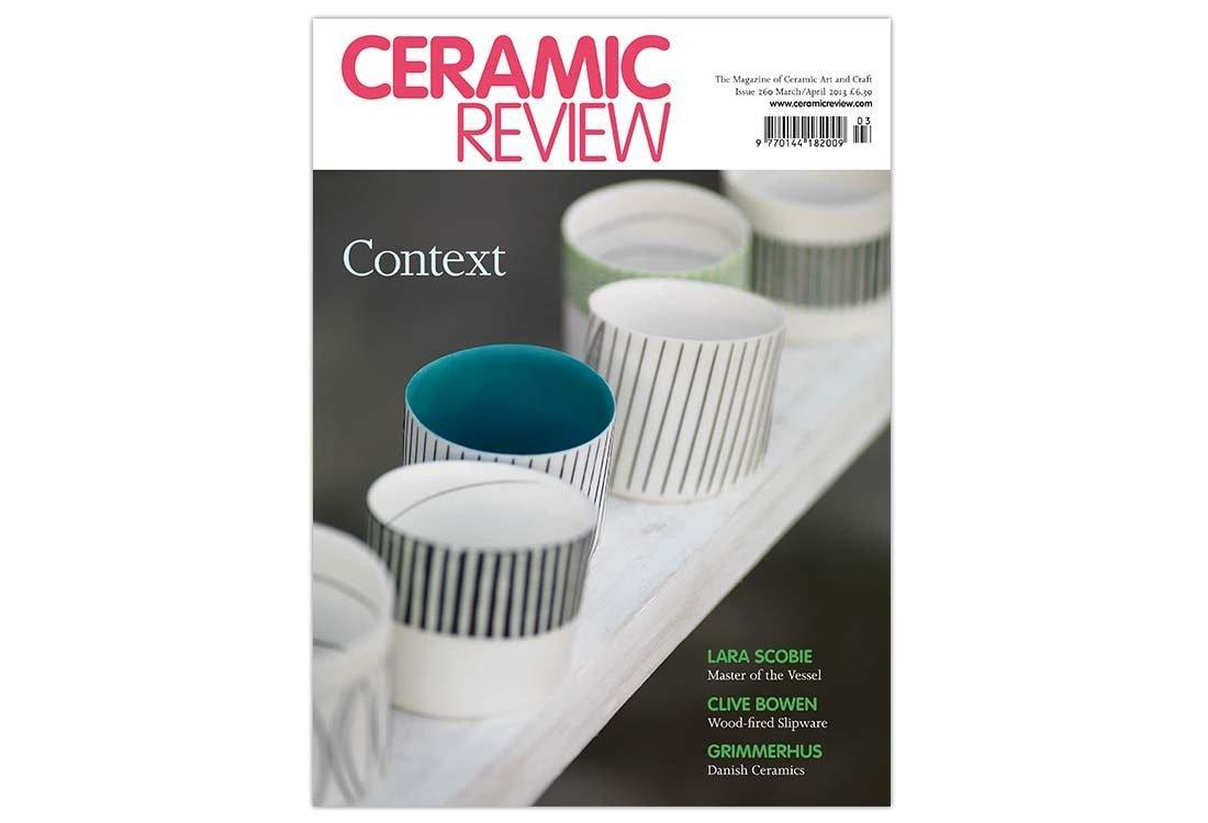 Natasha Cawley Ceramic Review Cover